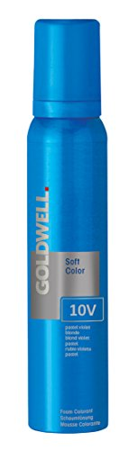 Goldwell Colorance 10V Soft Color Pastel Violet Blonde Demi-Permanent, Vibrant Color Refresh - 4oz (Pastel Pearl 10p)