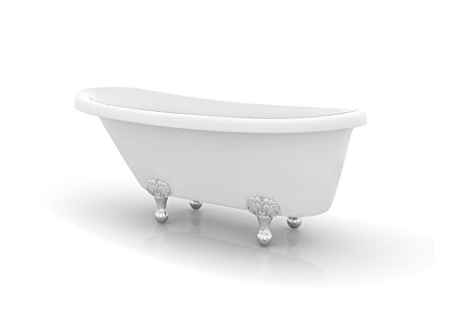 Ancona Monroe Freestanding Clawfoot Bathtub (Acrylic Clawfoot Tub compare prices)