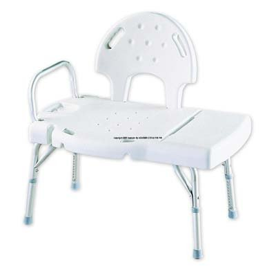 ((EACH ) I-Class Blow-Molded Transfer Bench [I CLASS BENCH TRNSFR] by Invacare)