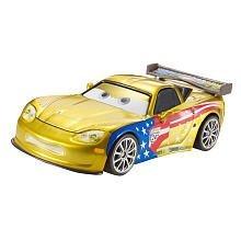 - Disney / Pixar CARS 2 Movie Exclusive 155 Die Cast Car Jeff Gorvette with Metallic Finish Special Deco