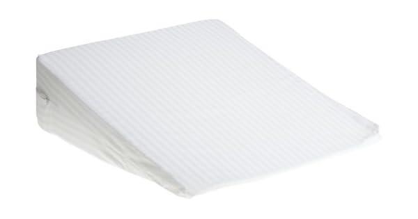 Amazon.com: Almohada de cuña de espuma convencional ...