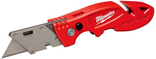 Milwaukee 48-22-1903 Fastback 3 Utility Knife with 4 Blade Storage,...