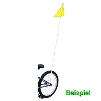 Bicicleta de los niños de banderín de seguridad bandera seguridad bandera Neón - 01300501