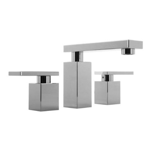 Graff Widespread Bath Faucet - Graff G-3710-LM31L-PC Solar Widespread Lavatory Faucet, Polished Chrome