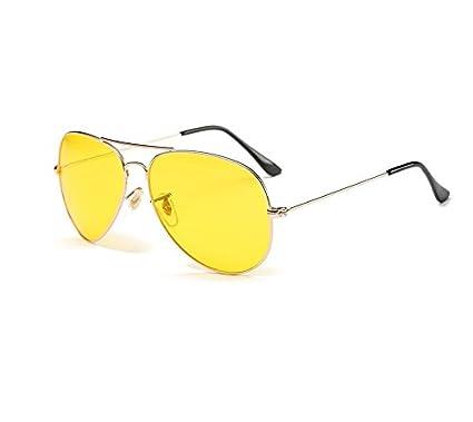 VIPASNAM-Las Vegas Fear and Loathing Vintage Yellow Pilot Sunglasses Hunter S. Thompson