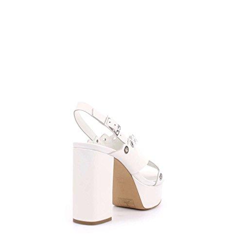 Docksteps - Sandalias de vestir para mujer Bianco