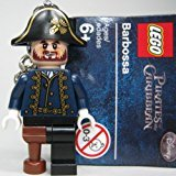 LEGO Pirates of the Caribbean: Captain Hector Barbossa Keychain -
