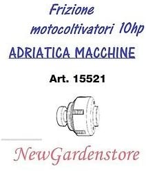 Embrague de discos multipli motocultor Motoazada Adriatica 15521 6 ...