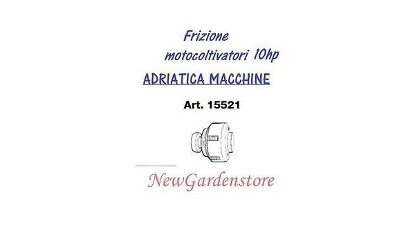 Embrague de discos multipli motocultor Motoazada Adriatica 15521 6 dientes: Amazon.es: Bricolaje y herramientas