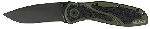 Kershaw Ken Onion Blur Folding Knife with Speed Safe (Olive Drab)