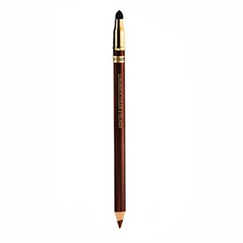 - Revlon Luxurious Color Eyeliner, Sueded Brown, 0.043 Ounce