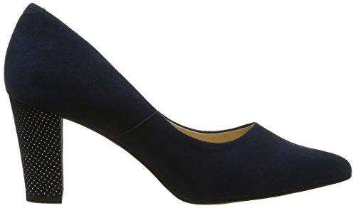 Scarpe Blu 930511 PIAZZA Punta Tacco Donna Chiusa Jeansblau col wHC55aRqU