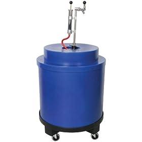 Super Cooler For Kegs of Beer – Blue