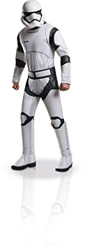 Star Wars Stormtroopers Costumes (Rubie's Men's Star Wars 7 The Force Awakens Deluxe Villain Trooper White Costume, Multi,)