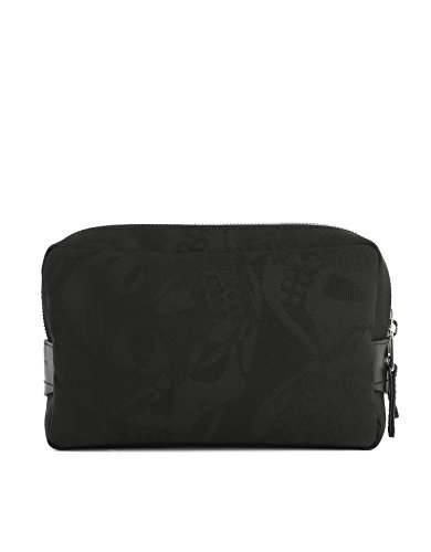 Price comparison product image Alexander Mcqueen Men's 453695Kp93n1000 Black Polyester Beauty Case