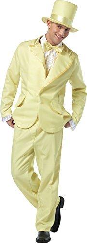 Morris Costumes 70s Inspired Funky Tuxedo Pastel Costume, Yellow by Rasta (70s Inspired Costumes)