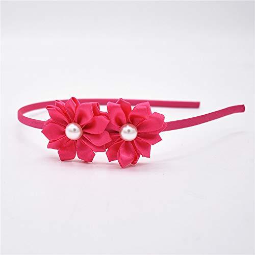Headband Pearl Flower Hair Accessories flower Headbands beautiful hoop hair Princess band head of hair for girls headband