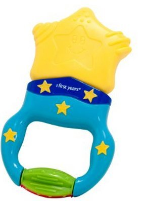 Game / Play The First Years Massaging Action Teether, pacifier, sleeper, vibrating, babies, months Toy / Child / Kid