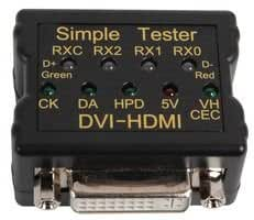 CABLE TESTER, DVI & HDMI SIMPLE LINK 72-9260 By TENMA