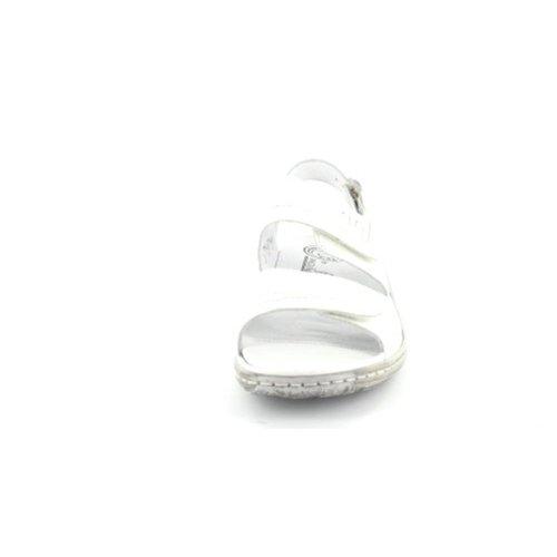 Waldläufer - Sandalias de Vestir de cuero Mujer Blanco - blanco