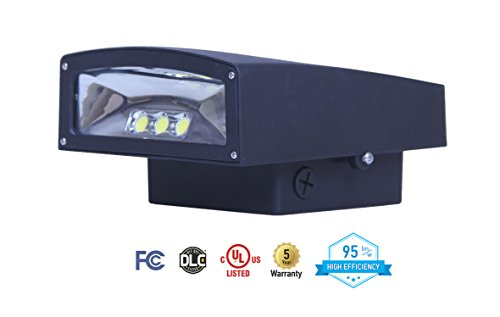 ASD LED Wallpack 50W 5000K (Daylight White) 4500lm Cut-Off Series COB UL Listed DLC (Fluorescent Wallpack)