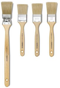 Escoda Natural 8247 Oil & Acrylic Natural Chungking Bristle Paint Brush Varnish Double Thickness; Size 21