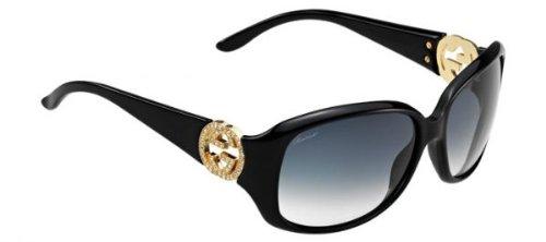 Gucci Sunglasses GG 3578/S BLACK D28JJ - Made In Sunglasses Gucci Italy
