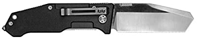 "Mantis Knives MT 7-2B ""Folding Pry 2"" High Tech Folding Blades Knife, Black"