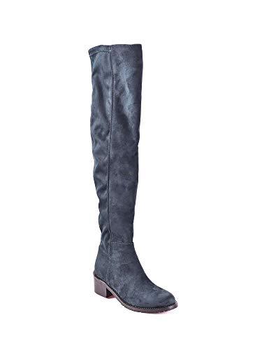 Donna Stivale Grace Blu Shoes 2825 qHAvAp