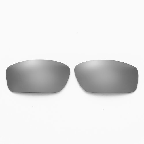 New Walleva Polarized Titanium + Black Lenses For Oakley Splinter