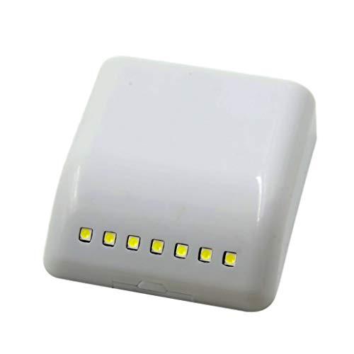 - Euone Home, LED Light Sensor Night Lamp Inner Hinge Cabinet Wardrobe Drawer Battery Powered