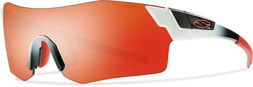 Smith Pivlock Arena/N Lunettes de Soleil White Red Fade/Red Mirror + Ignitor + Transparent 8rRWgInD