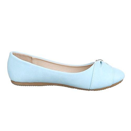 Ital-Design - Cerrado Mujer Azul - azul claro