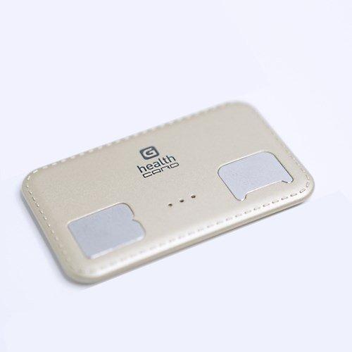 G-Health Smart Bluetooth Body Fat Check Analyzer - Card Type BMI Meter Monitor