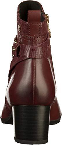 Women's Boots 9 25418 Caprice 9 Ankle 019 21 Bordeaux BqTUaadxnw