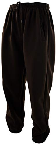 ChoiceApparel Mens Basic Sweatpants to Choose from (S, 501S-BROWN)