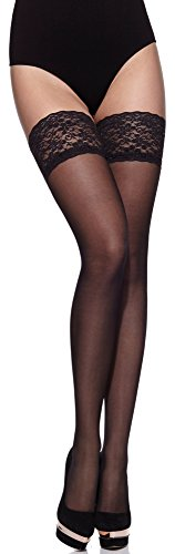 Merry Style Mujer Hold Ups MS 209 Negro
