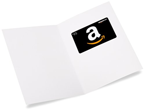 Large Product Image of Amazon.com $25 Gift Card in a Greeting Card (Christmas Puppy Design)