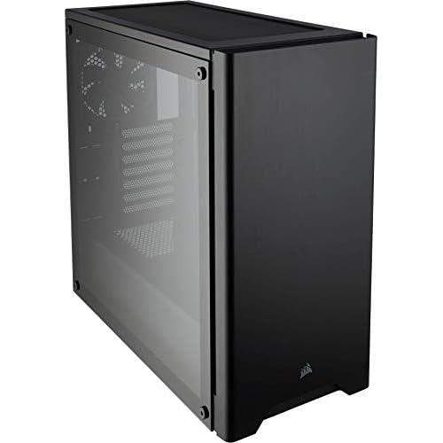 chollos oferta descuentos barato Corsair Carbide 275R Caja de ordenador semitorre para juegos Torre Media ATX con ventana de vidrio templado negro