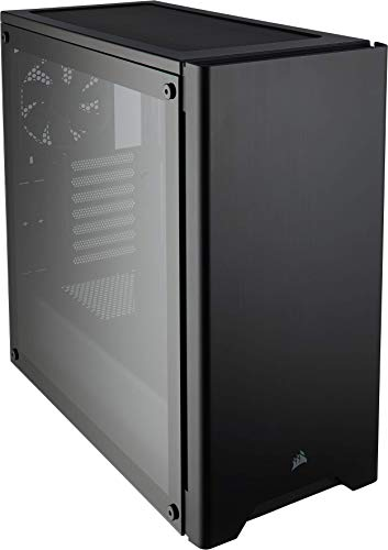 Corsair Carbide Series 275R Tempered Glass Mid-Tower ATX Gaming Case – Black