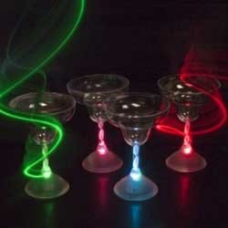 Led Light Up Flashing Margarita Glasses in US - 4