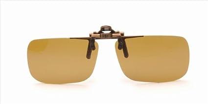 Con pinza de sol polarizadas de texto en inglés de las gafas ...