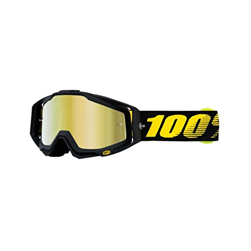 100% Racecraft Goggle - Raceday with Mirror Gold Lens