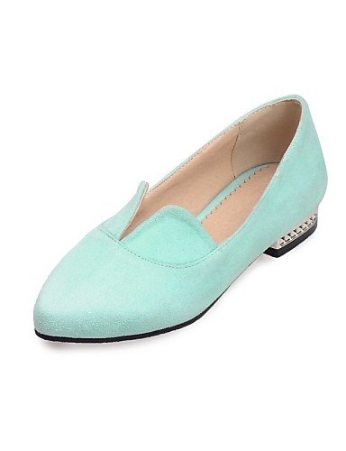Casual Bailarina uk4 Rosa ZQ de 5 Planos Tacón Verde Zapatos green eu37 cn37 mujer Puntiagudos 7 us6 gray green us4 light Vestido 5 light cn33 Vellón eu34 uk2 5 2 5 Plano Claro 5 Gris Exterior gyht 4 nOPOgqYw