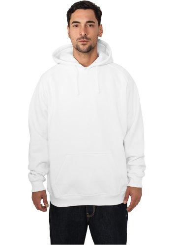 Urban Classics felpa da uomo abbigliamento Pullover Bianco bianco
