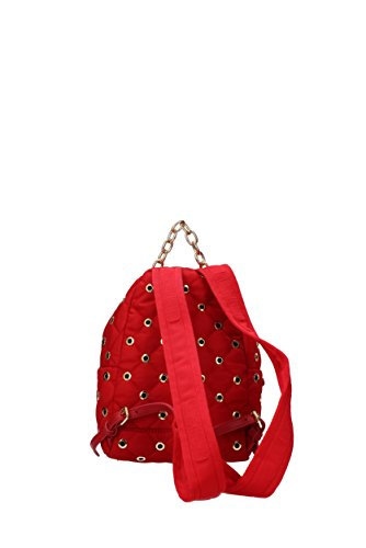 Mochilas & Riñoneras Moschino Mujer - Tejido (B76068201) Rojo