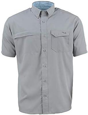 Marolina Outdoor Men/'s Short Sleeve Button Down Shirt Black Size Large New