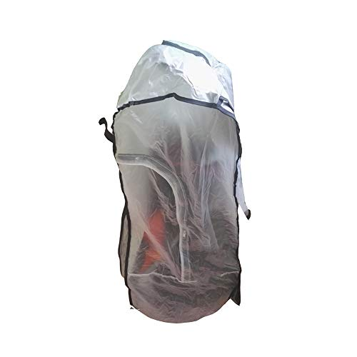 DAYOLY Golf Bag Cover Waterproof Golf Cart Bag Rain Cover with Zipper – Full Length Translucent PVC Rain Cover fits…