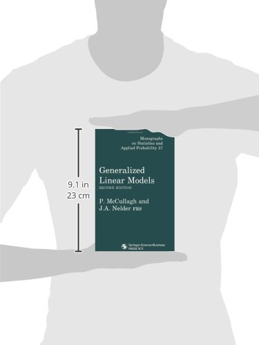 Generalized Linear Models (Chapman & Hall/CRC Monographs on