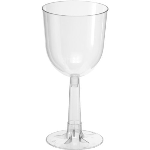 Clear 12 oz Wine Glasses 4-Count